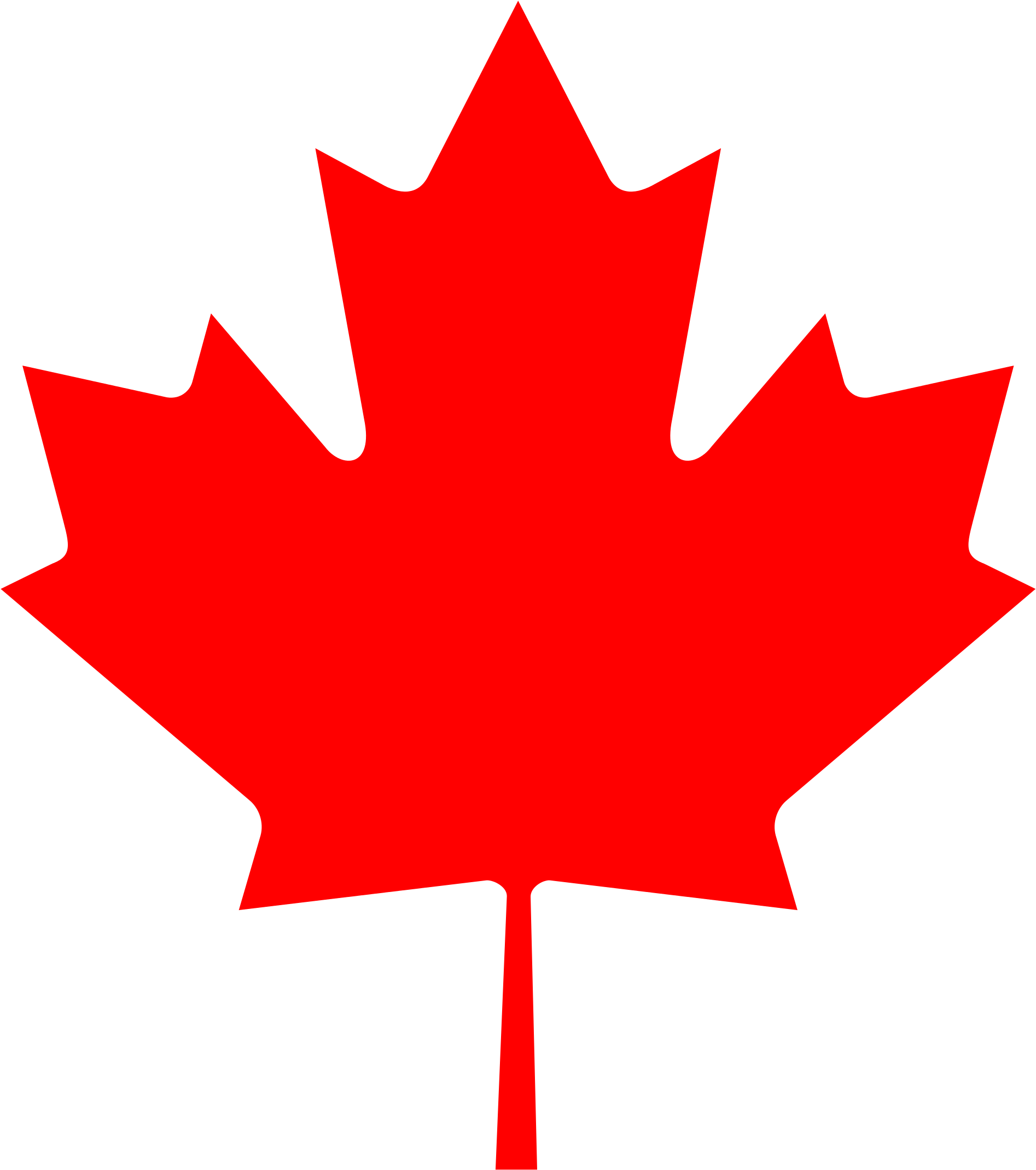 Canadian Maple Leaf icon