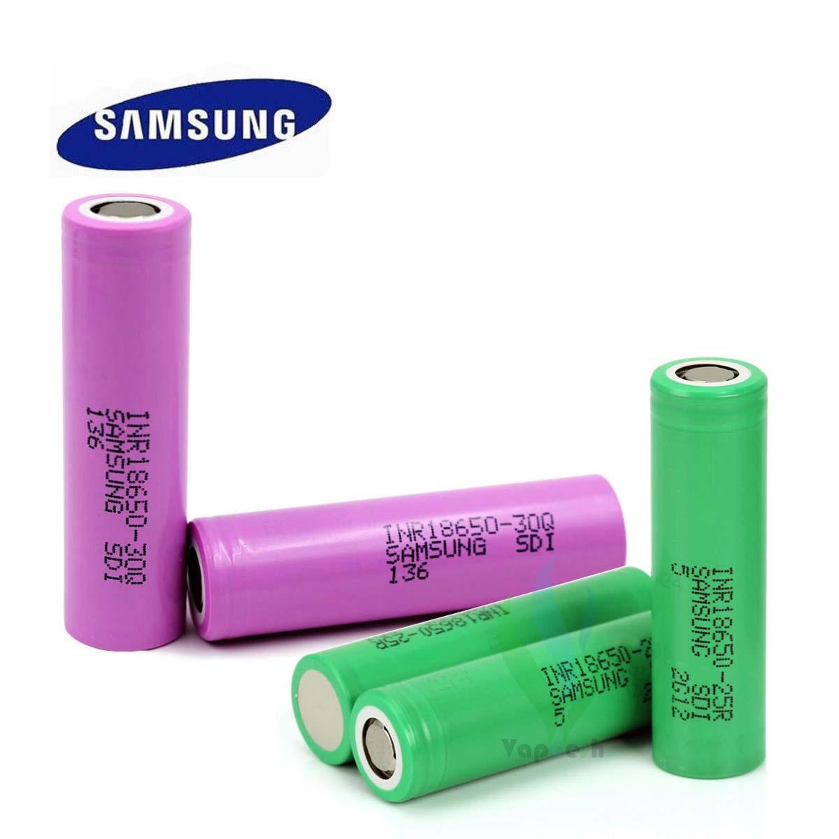 Samsung Battery 18650 25R & 30Q